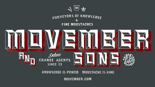 MovemberLogo1 Celebrate Movember To Raise Awareness For Mens Health!