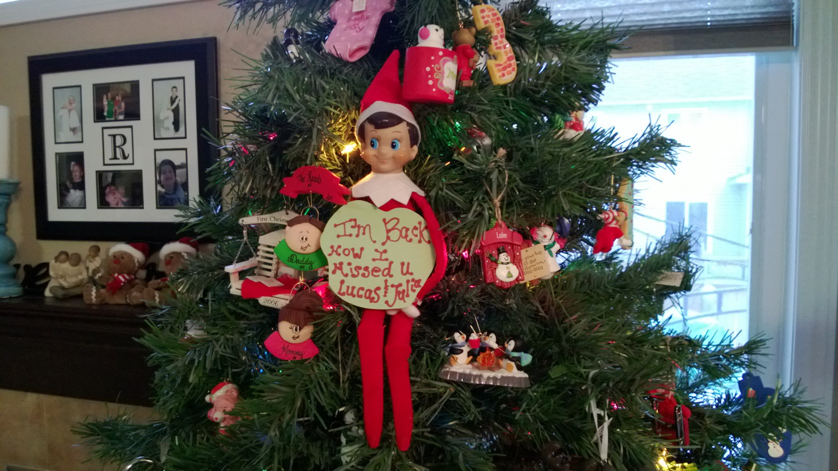 Our Elf On The Shelf Is Back Say Hello To Zerby