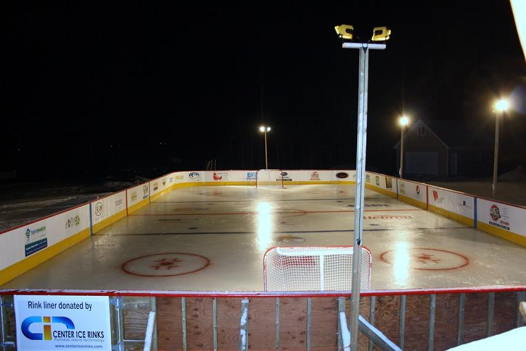 Churchill Rink Night