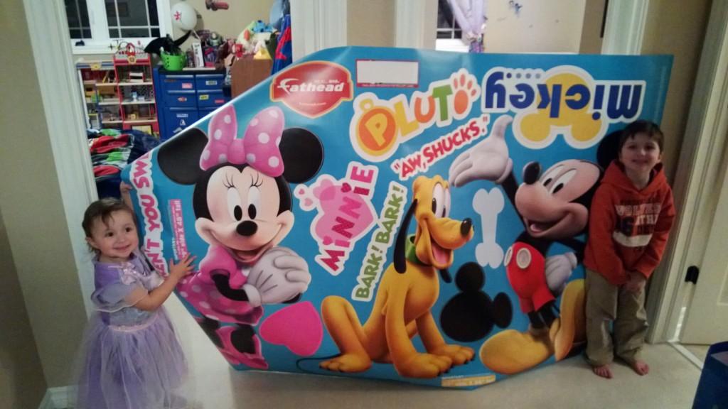 Mickey Minnie Fathead