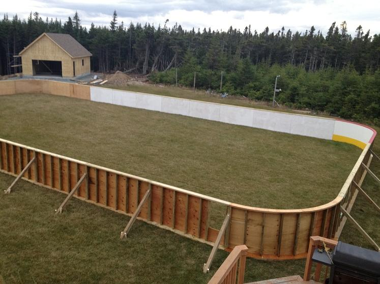 Backyard Rink Boards : CD Now that the rink is built, what are your goals for it? Will there
