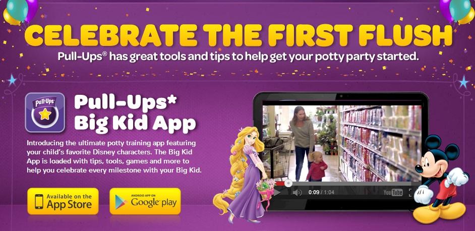 Pull Ups Big Kid App