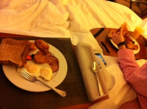 Breakfast Bed