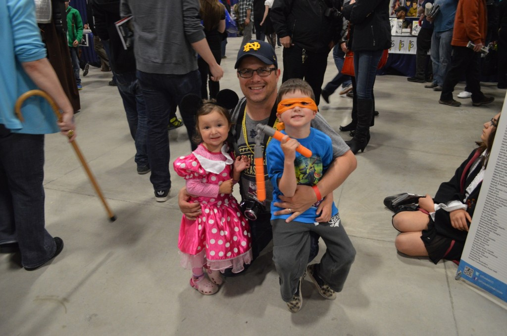 Dad Kids ComicCon