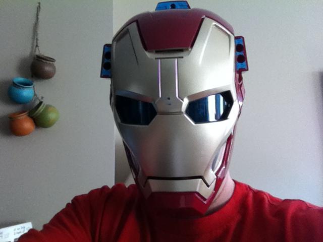 Daddy Iron Man