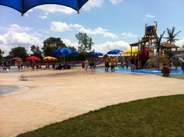 Lion Safari Splash Pad