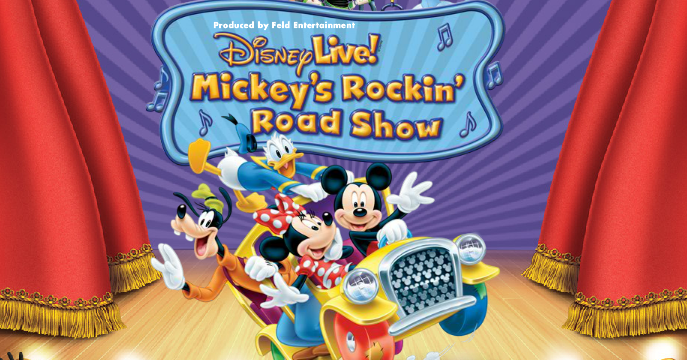 Mickey Rockin Road Show Disney