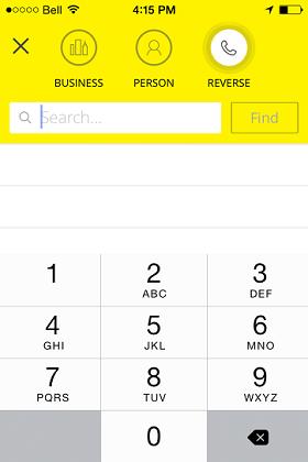 Reverse Phone YP App