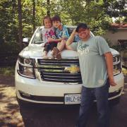 2015 Chevrolet Tahoe Dad Kids
