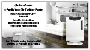 PurifyYourAir Twitter Party Graphic