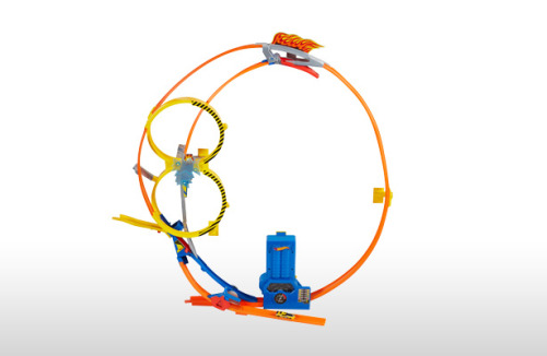 Hot Wheels Super Loop Chase Race Mattel