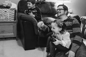 Dad Kids Video Games