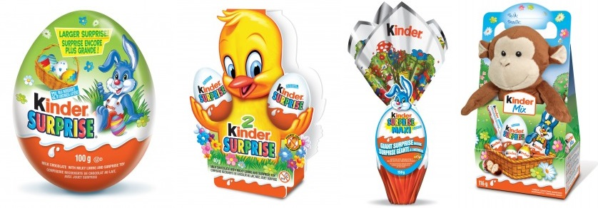 Kinder Surprise Easter Packs