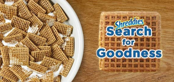 Shreddies Search For Goodness