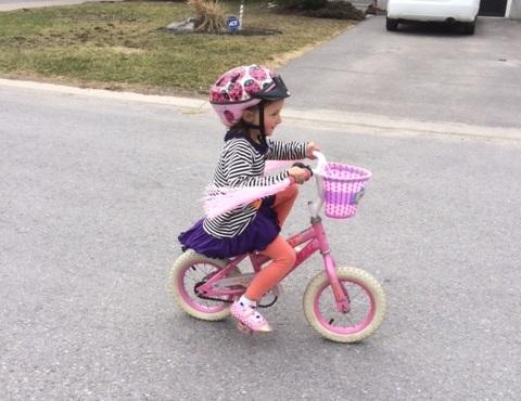 Daughter Bike Ride