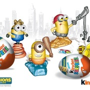 Kinder Canada Eggs Minions Movie