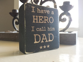 Dad Hero Block