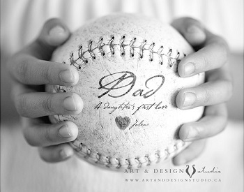 Etsy Custom Softball Art