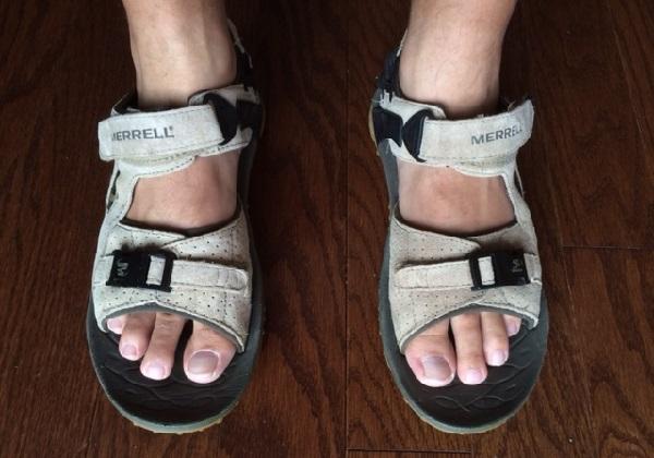 Merrell Sandals Feet Pics