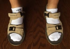 Merrell Socks Sandals