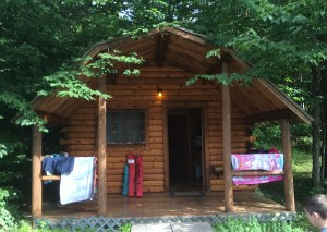KOA Family Cabin Camping