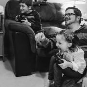 Kids Dad Video Games