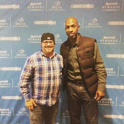 NBA Marriott Global Games Chauney Billups
