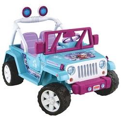 Power Wheels Disney Frozen Jeep Wrangler
