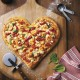 Boston Pizza Heart-Shaped Pizza