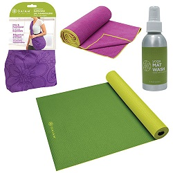 Gaiam Yoga Essentials Bundle