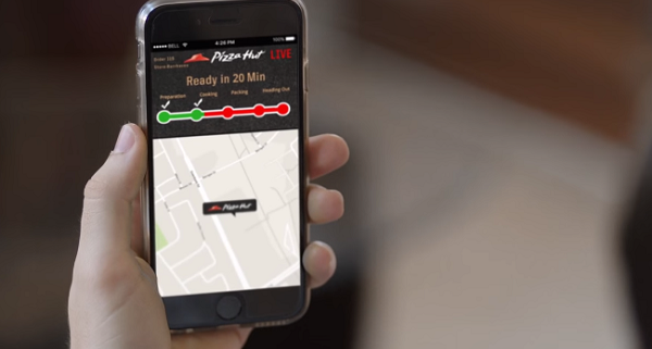 Pizza Hut GPS Tracker
