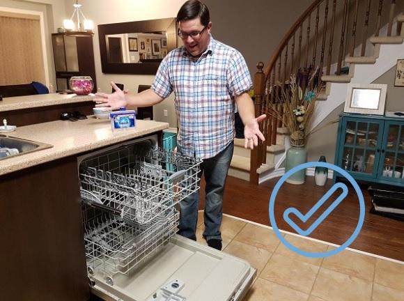 finish dishwasher clean