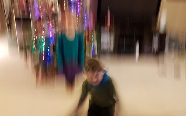 Peekaboo Beans Blurry