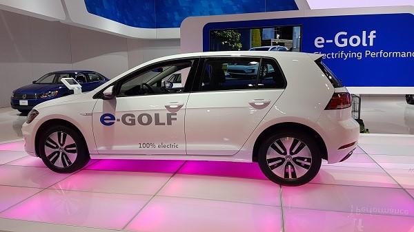 Volkswagen Canada eGolf