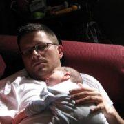 Dad Baby Hugs