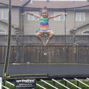 Springfree Trampoline Kids Jumping 2