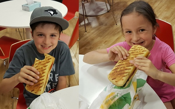 Subway Panini Kids