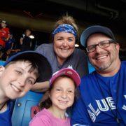 Blue Jays Family Shot