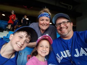 Blue Jays Family Shot