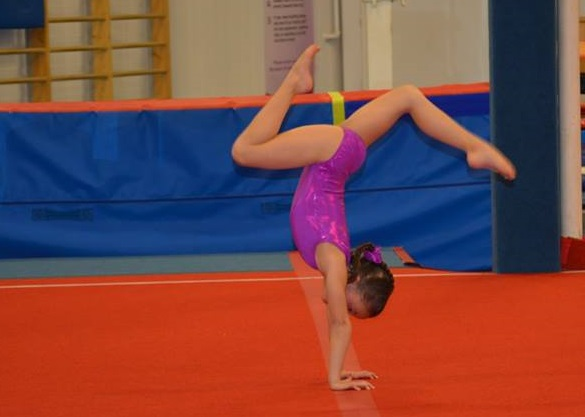 Julia UA Gymnastics