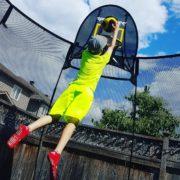 Springfree Trampoline Basketball