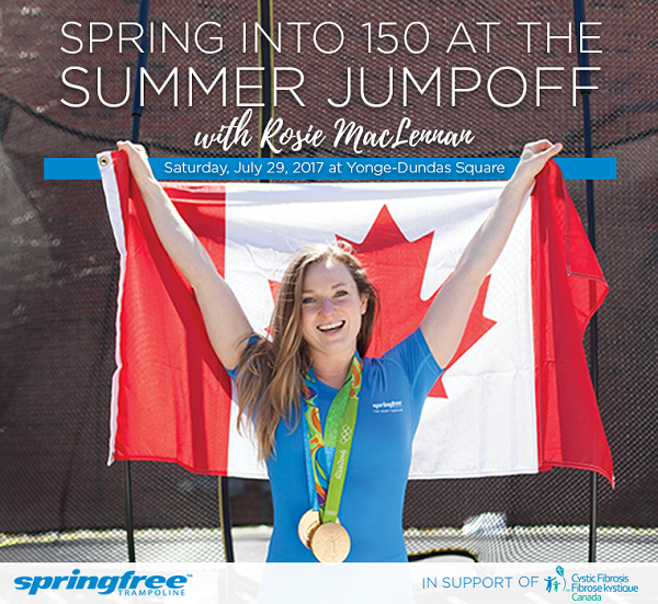 Getting Trampoline Springs Off: Join Springfree Trampoline Canada For Their Summer Jumpoff