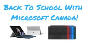Back To School With Microsoft Canada