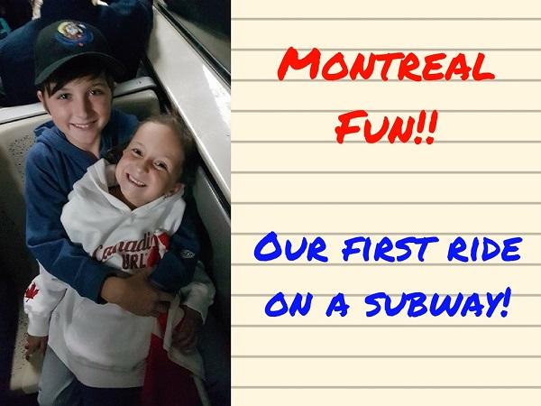 Kids Montreal Metro
