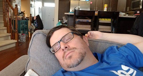Snoring Dad