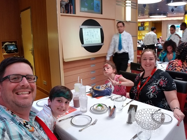 Disney Dream Family Dinner