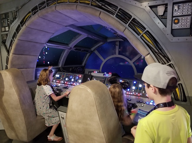 Disney Dream Milennium Falcon Kids Club