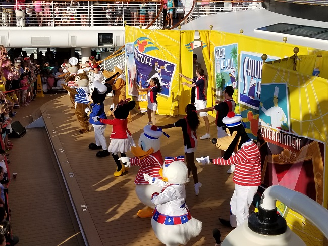 Disney Dream Sail Away Party