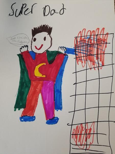 Superhero Dad Marks