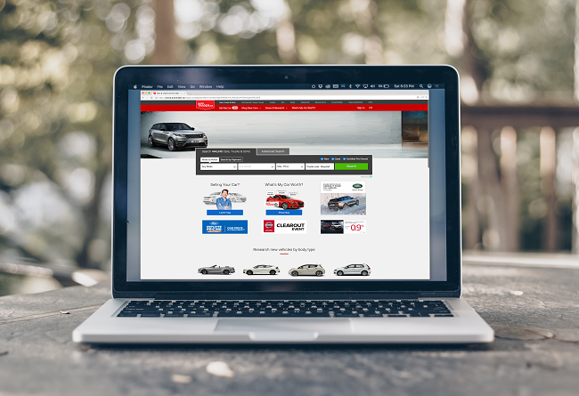 autoTRADER Website